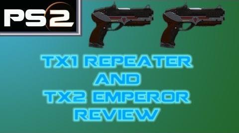 Planetside 2 - TX1 Repeater and TX2 Emperor Gun Comparison Review - Mr