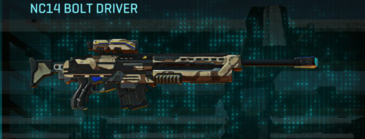 Indar scrub sniper rifle nc14 bolt driver
