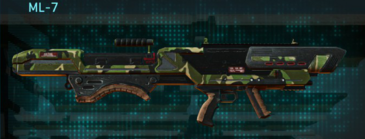 Jungle forest rocket launcher ml-7