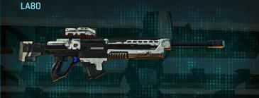Rocky tundra sniper rifle la80