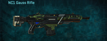Amerish forest assault rifle nc1 gauss rifle