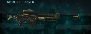 Temperate forest sniper rifle nc14 bolt driver