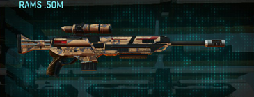 Indar canyons v1 sniper rifle rams .50m
