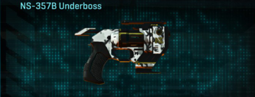 Forest greyscale pistol ns-357b underboss
