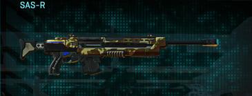 India scrub sniper rifle sas-r