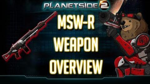 Planetside 2 MSW-R Weapon Overview TR LMG Heavy Assault