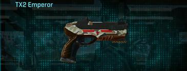 Arid forest pistol tx2 emperor