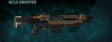 Indar plateau shotgun nc12 sweeper