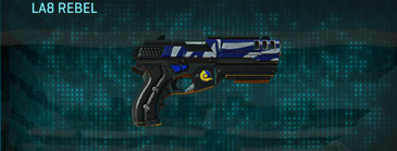 Nc zebra pistol la8 rebel