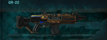 Indar rock assault rifle gr-22