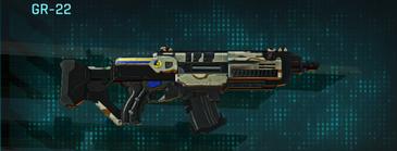 California scrub assault rifle gr-22