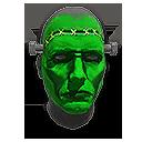 Frankenstein Facepaint NS Helmet