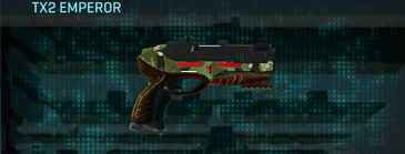 Jungle forest pistol tx2 emperor