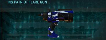 Nc zebra pistol ns patriot flare gun
