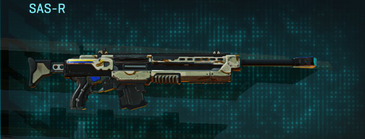 California scrub sniper rifle sas-r