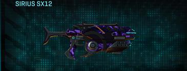 Vs alpha squad smg sirius sx12