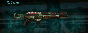 African forest assault rifle t1-cycler