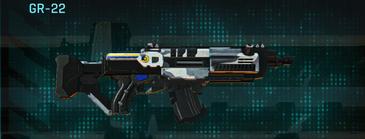 Esamir ice assault rifle gr-22