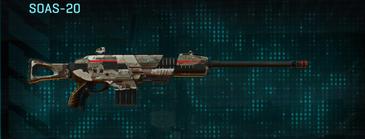 Desert scrub v2 scout rifle soas-20