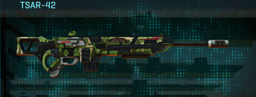 Jungle forest sniper rifle tsar-42