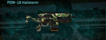 African forest smg pdw-16 hailstorm