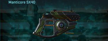 Amerish leaf pistol manticore sx40