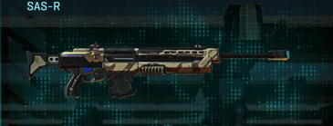Indar scrub sniper rifle sas-r