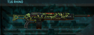 Jungle forest lmg t16 rhino