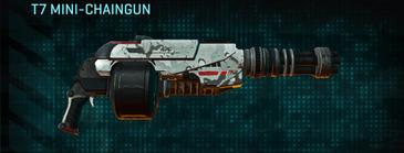 Rocky tundra heavy gun t7 mini-chaingun