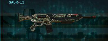 Scrub forest assault rifle sabr-13