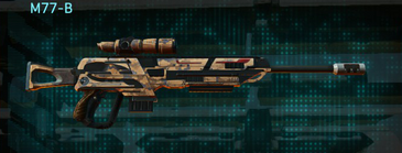 Indar canyons v1 sniper rifle m77-b