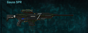 Clover sniper rifle gauss spr