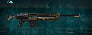 Indar highlands v1 sniper rifle sas-r