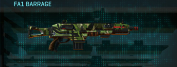 Jungle forest shotgun fa1 barrage