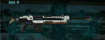 Esamir snow sniper rifle sas-r