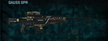 Scrub forest sniper rifle gauss spr