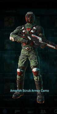 Tr amerish scrub combat medic