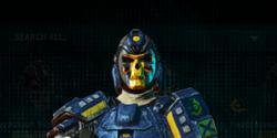 Nc banded skull helmet heavy assault