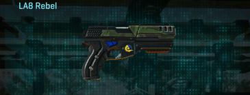 Amerish leaf pistol la8 rebel