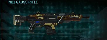 India scrub assault rifle nc1 gauss rifle