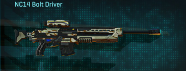 California scrub sniper rifle nc14 bolt driver
