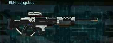 Esamir snow sniper rifle em4 longshot