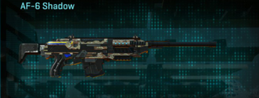 Arid forest scout rifle af-6 shadow