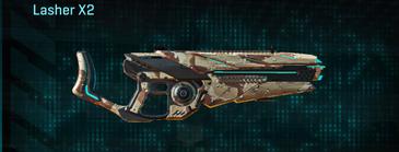 Desert scrub v2 heavy gun lasher x2