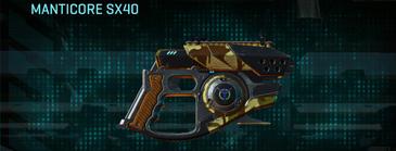 India scrub pistol manticore sx40