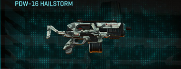 Northern forest smg pdw-16 hailstorm
