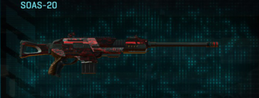 Tr digital scout rifle soas-20