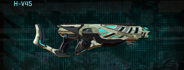 Indar dry ocean assault rifle h-v45