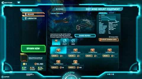 PlanetSide 2 - New ESF Weapon - PTS 06.08.2013