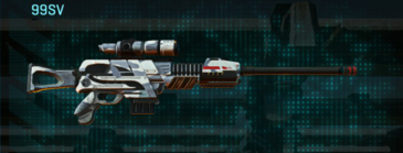 Esamir ice sniper rifle 99sv